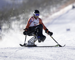 disabled skiing
